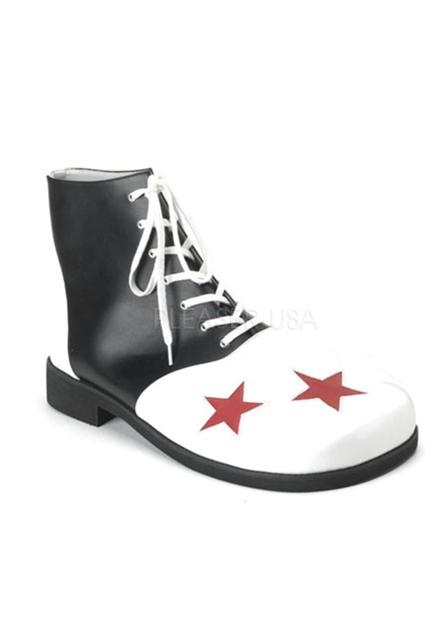 Adult Clown High Top Shoes