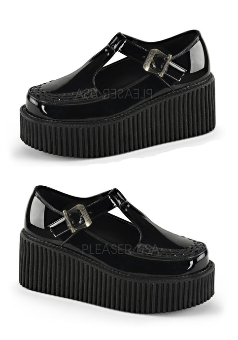 Adult School Girl T-Strap Shoes