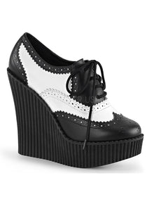 Black & White 1950s Wedge Creepers