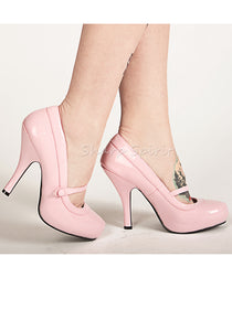 Baby Pink Mary Jane Pump