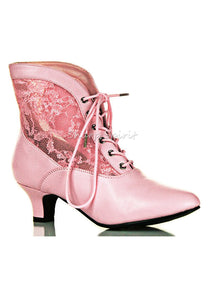 Be Empress Lace Ankle Boots