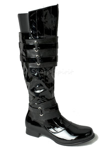 Darth Vader Mens Knee High Boots