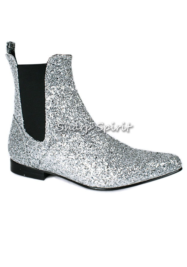 Disco Pointed Toe Beatle Boots
