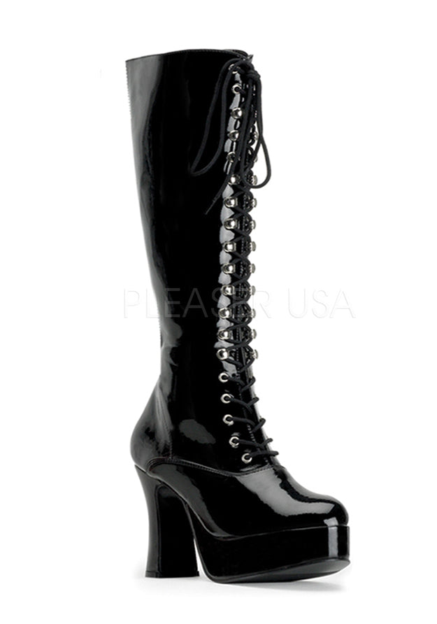 Angel Retro Lace Up Boots