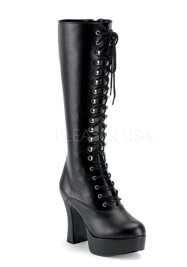 Ginger Retro Lace Up Boots