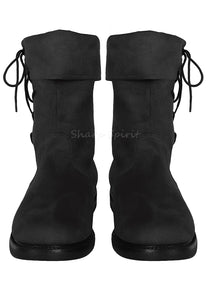 Fantasy Pirate Elf Halloween Costume Western Mens Boots