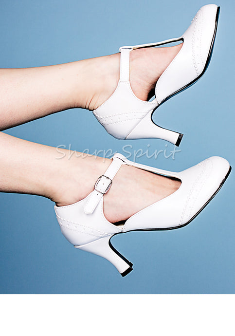 Vintage Style T-Strap Womens Shoes