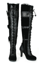 Load image into Gallery viewer, Lace Up Thigh High Kawaii Womens Boots