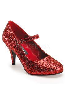 Wizard of Oz Red Glitter Shoes