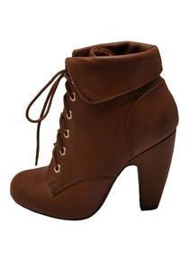 Chestnut Brown Steampunk Western Boots