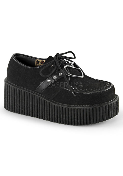 Heart O-Ring Womens Creeper Shoes