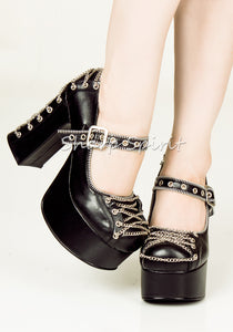 Love in Chains Mary Jane Platforms