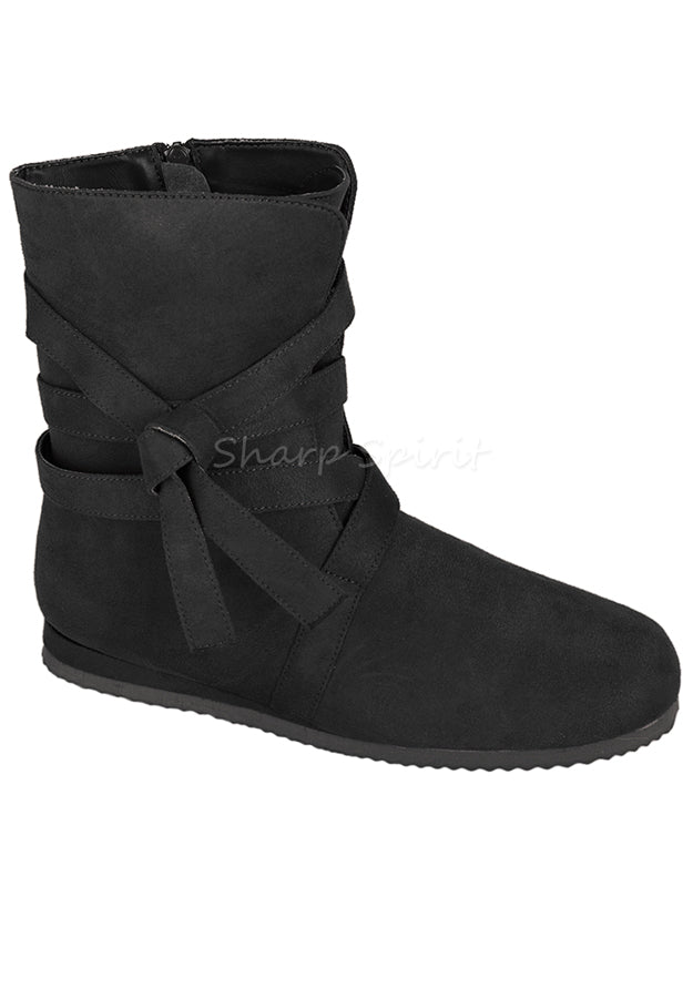 Peasant Medieval Halloween Costume Mens Cosplay Boots