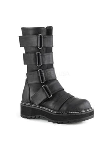 "1 1/4"" PF Front Strap Mid-Calf Boot, Side Zip"