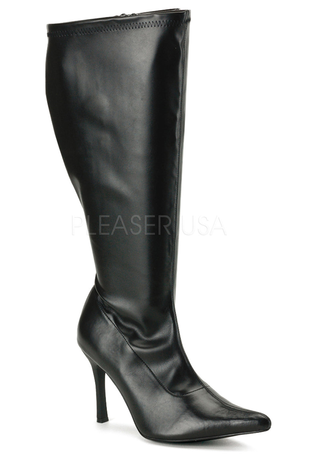 Pointy Toe Plus Size Boots