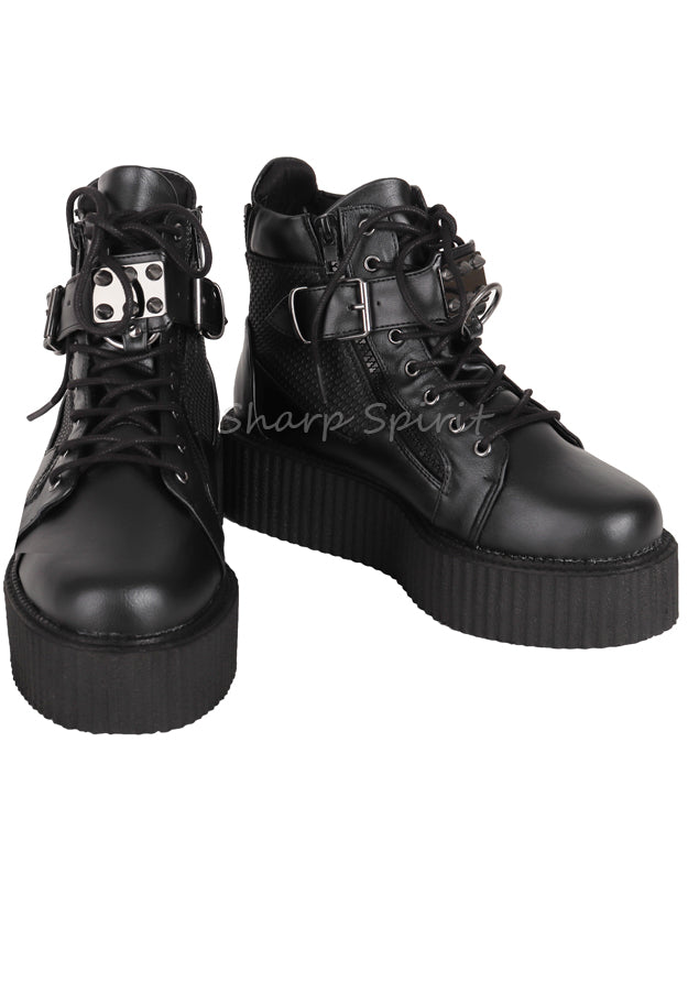 Oxford Creeper Studded Unisex Shoes