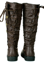 Load image into Gallery viewer, Pirate Warrior Soldier Combat Military Gothic Mens Boots