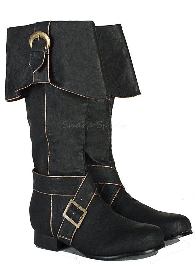 Jack Sparrow Knee High Boots