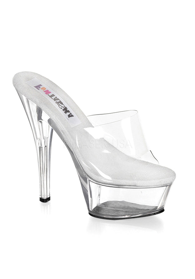 Naughty Cinderella Crystal Slipper Heels