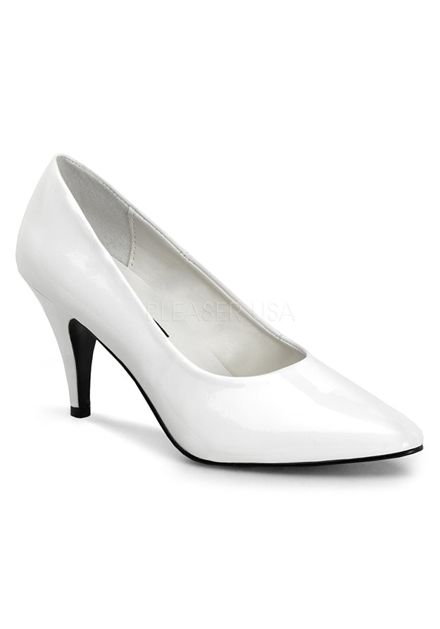 Must Have White Pointy Pumps