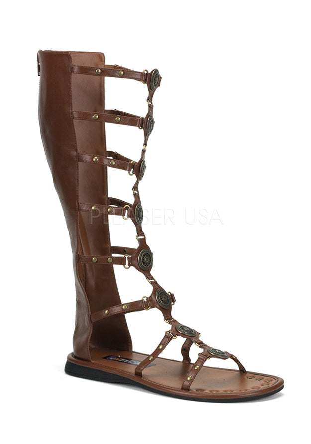 Brown Roman God of War Sandals