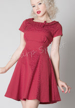 Load image into Gallery viewer, Round Collar Holiday Dress