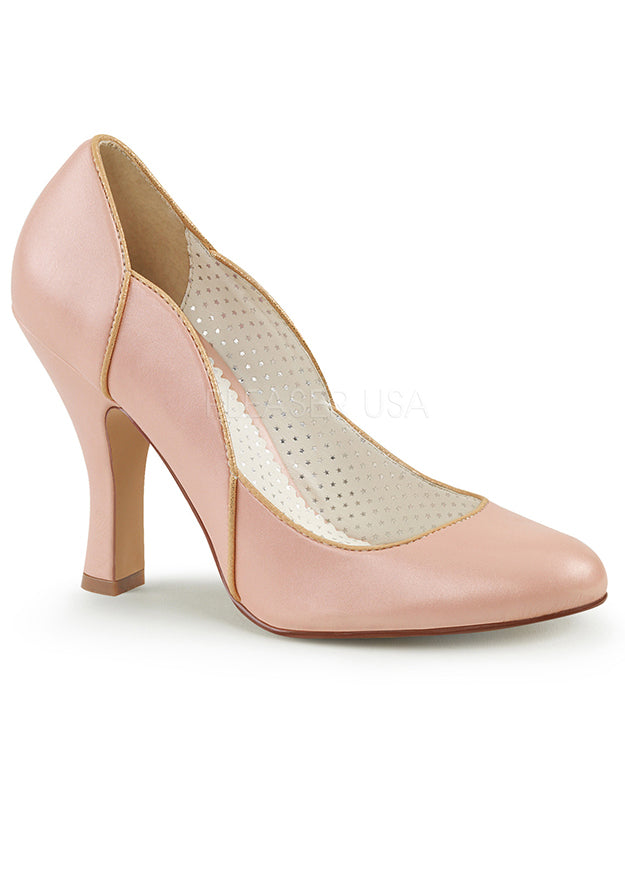 Baby Pink Mermaid Retro Pumps