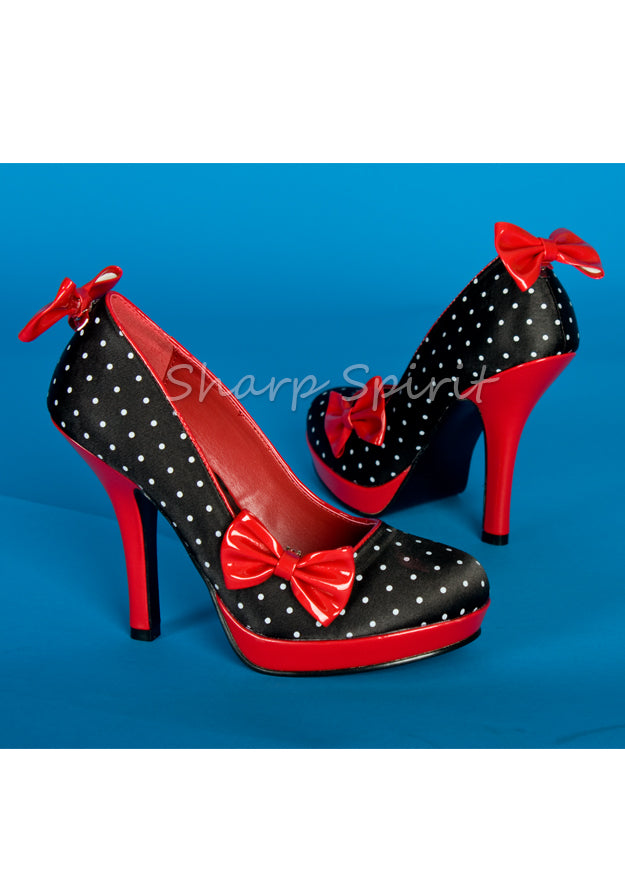 Love Yourself Polka Dot Shoes