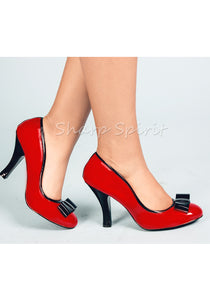 Red French Classiness Heels