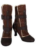 Load image into Gallery viewer, Steampunk Cosplay Victorian Queen Halloween Costume Boots