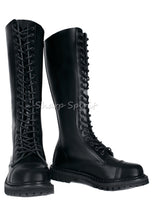 Load image into Gallery viewer, Steel Toe Knee High Boots