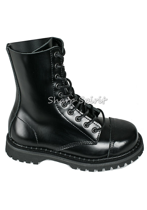 Steel Toe Leather Unisex Boots