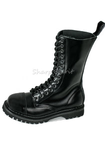 Steel Toe Mid-Calf Lace Up Boots