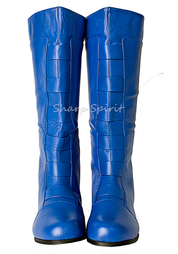 SuperHero Comics Cosplay Mens Boots