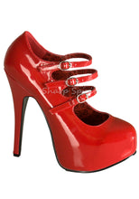 Load image into Gallery viewer, Triple Strap Mary Jane Heels