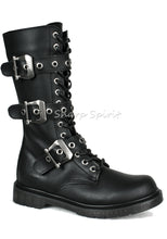 Load image into Gallery viewer, Three Buckle Mid-Calf Boots