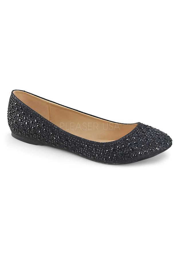 Round Toe Ballet Flat w/ RS