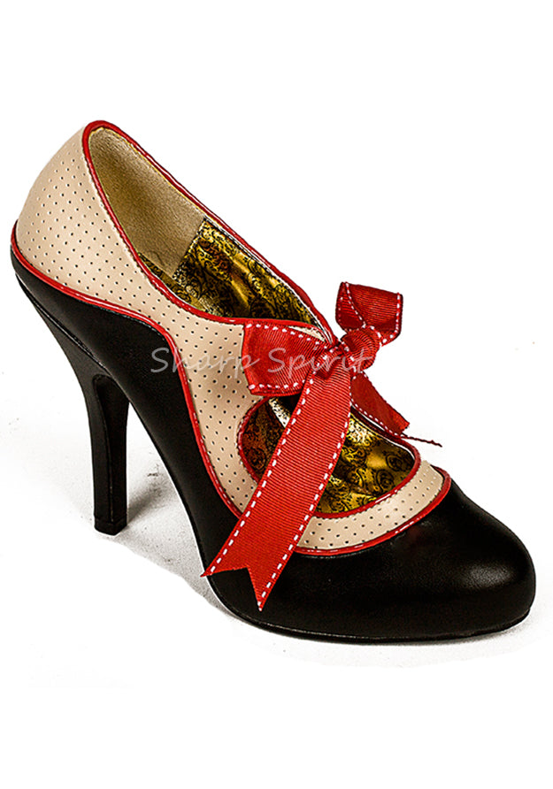 Two Tone Pin Up Retro Shoes