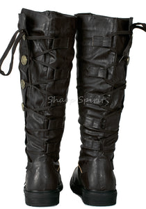 Warrior Combat Military Gothic Mens Boots