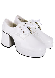 White Pat Tony Manero Shoes