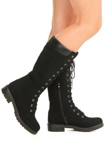Work Style Lace Up Boots