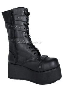 Wrap Around Platform Boots