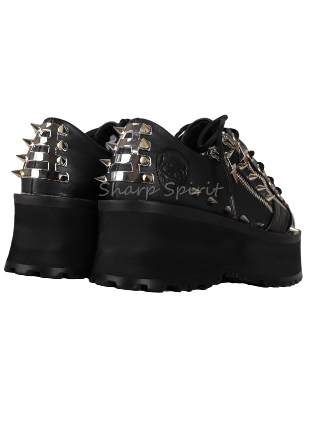 Zeus Lightning Bolt Platform Shoes