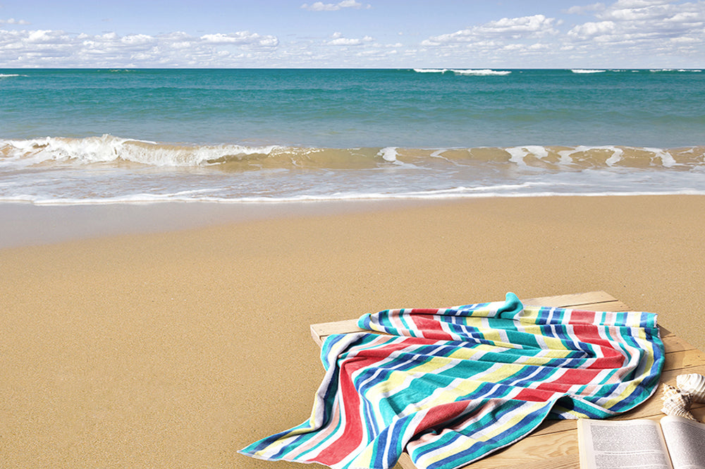 Luxury Turkish Beach Towel - iRelax® Australia