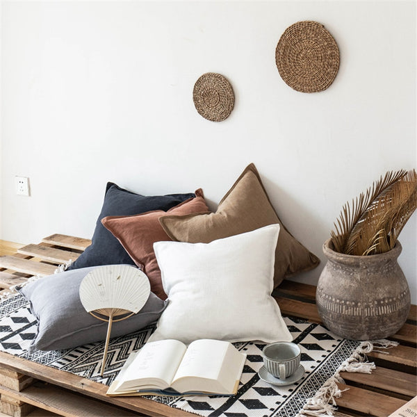 Stylish Luxe Linen Cushion Covers