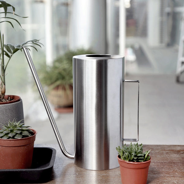 Sleek Design Stainless Steel Watering Cans | MAHOGANY STREET