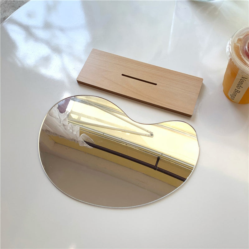 Irregular Shape Makeup Mirror