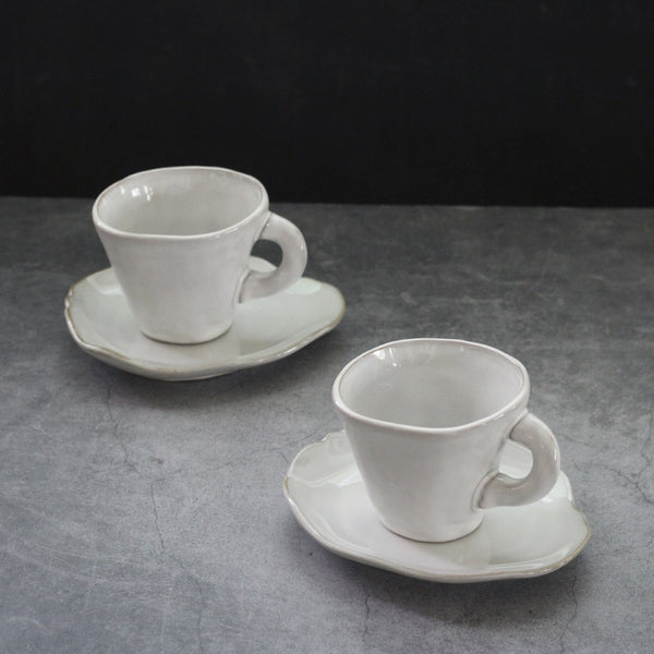 Irregular Shape Coffee Mug Set