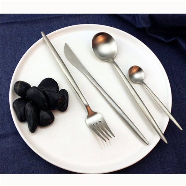 Stylish Cutlery Set - 4 pcs. - MAHOGANY STREET
