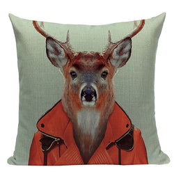 Original Cushion Covers With Animal Prints - MAHOGANY STREET